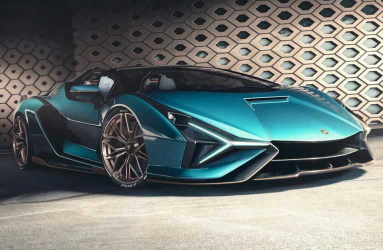 2021 Lamborghini Sian Roadster is an 819-hp hybrid supercar with more wind – CNET